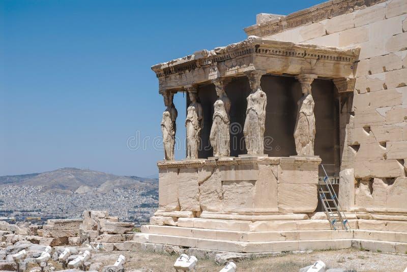 Akropol Ateny zdjęcie royalty free