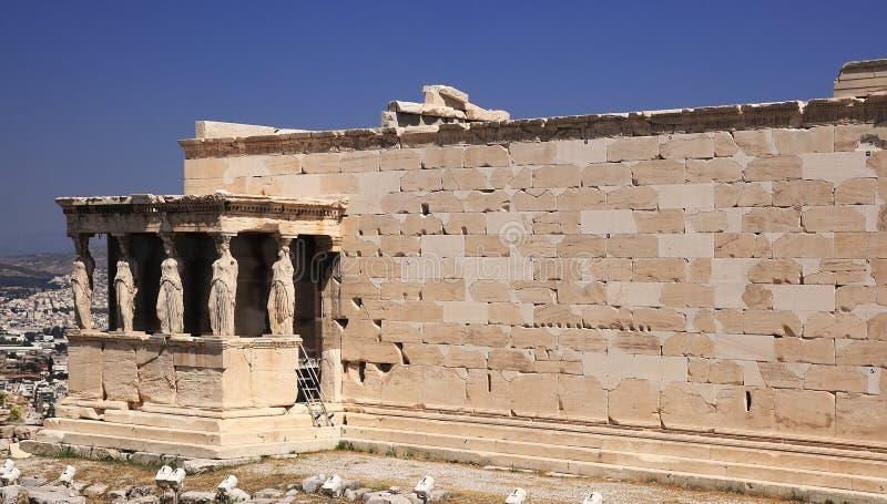 Akropol, Ateny, Grecja obraz royalty free
