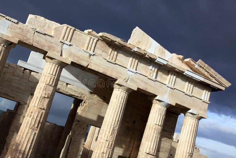 Download Akropol Athens obraz stock. Obraz złożonej z grecja, miejsce - 13333201