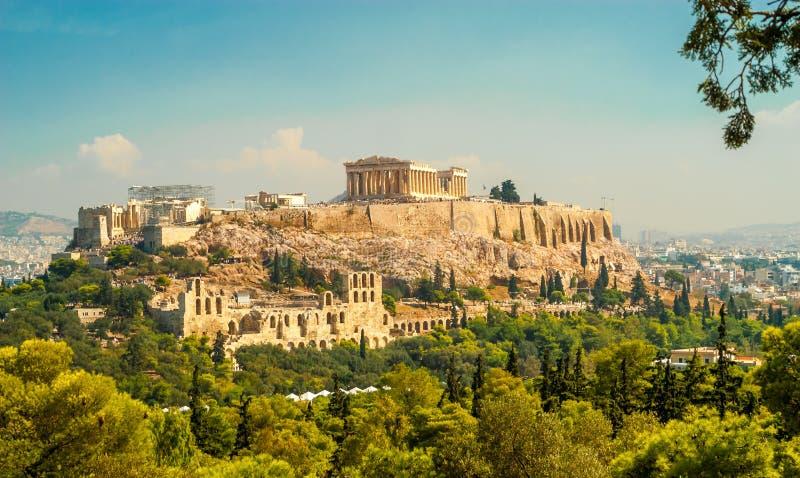 Akropol av Aten royaltyfri bild