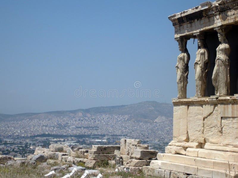 Akropol, Grecja zdjęcie royalty free