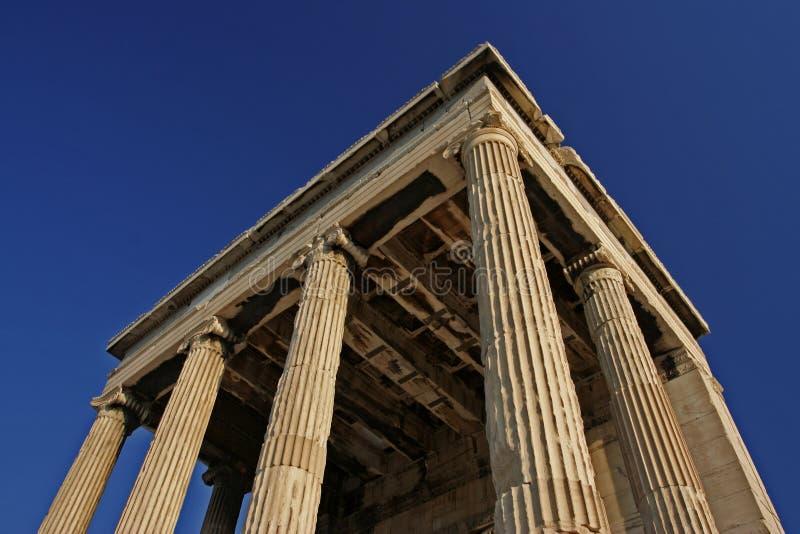 akropol starożytnych ruin obraz royalty free