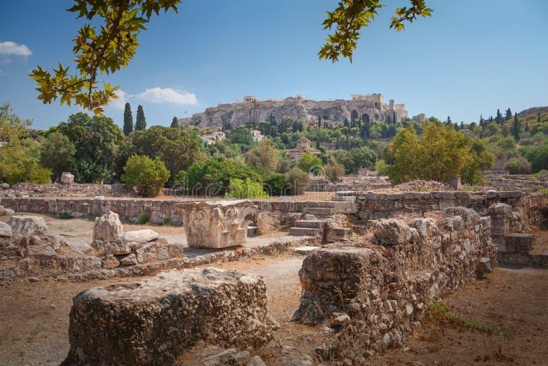 Akropol w Ateny, Grecja obrazy stock
