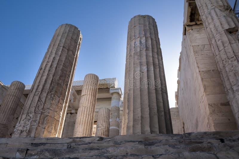 Akropol w Ateny, Grecja - zdjęcia royalty free