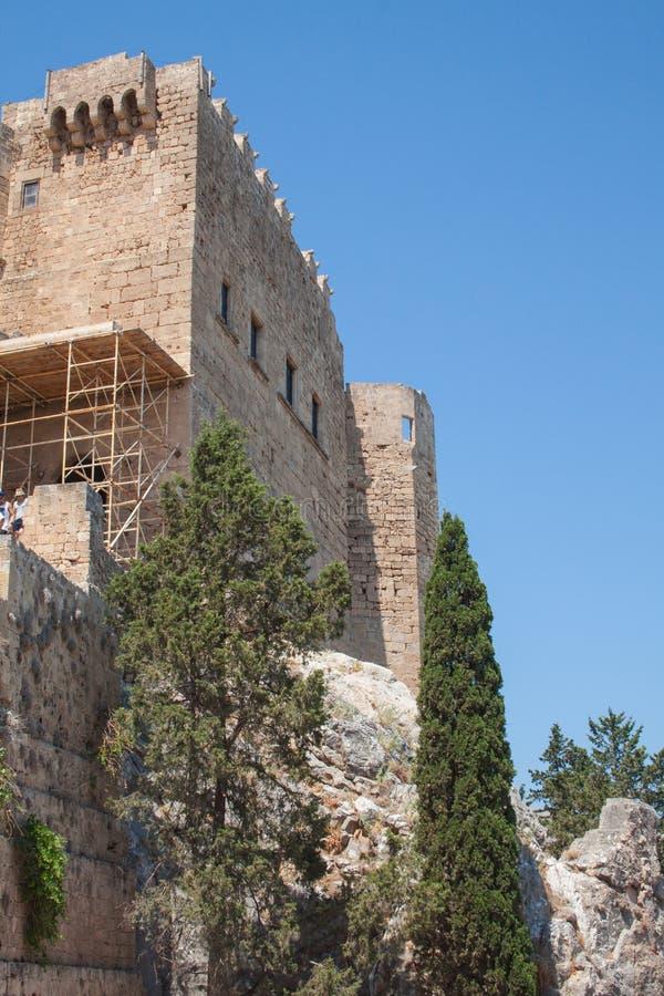 Akropolen fotografering för bildbyråer