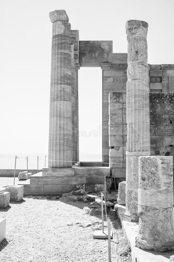 Akropolen royaltyfria bilder