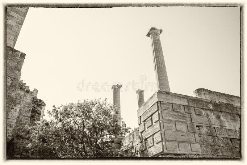 Akropolen arkivfoton