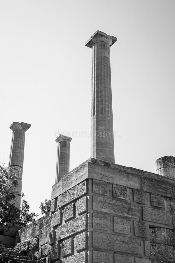 Akropolen royaltyfria foton