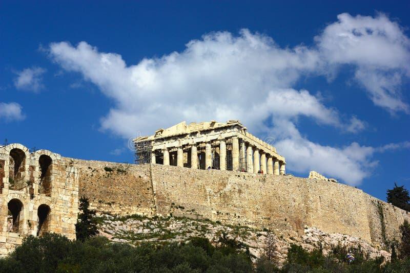 Akropolis stockbild