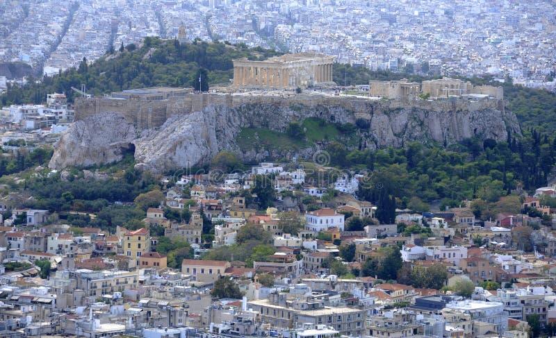 Akropolis stock afbeeldingen