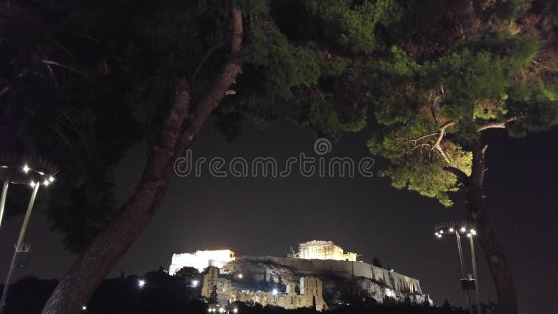 Akropolis images libres de droits
