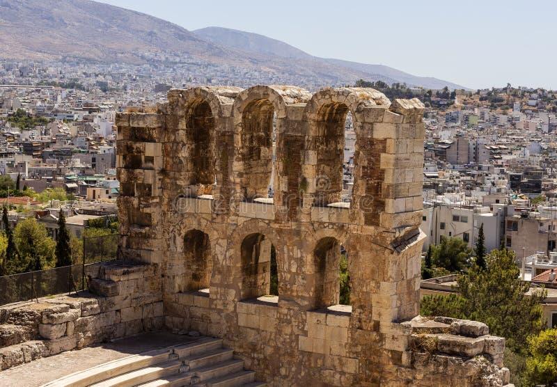 Akropolis, Athen lizenzfreies stockbild