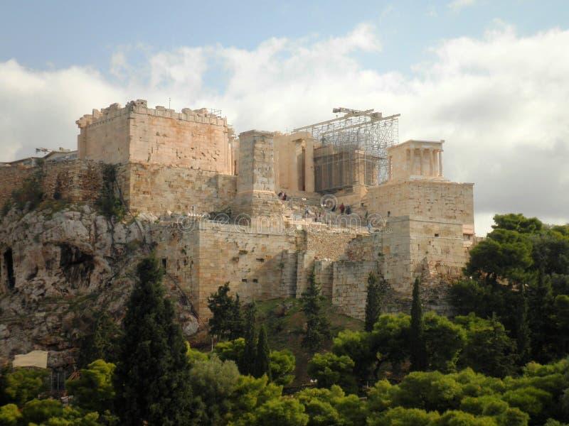 Akropolis Athen Griechenland lizenzfreie stockbilder