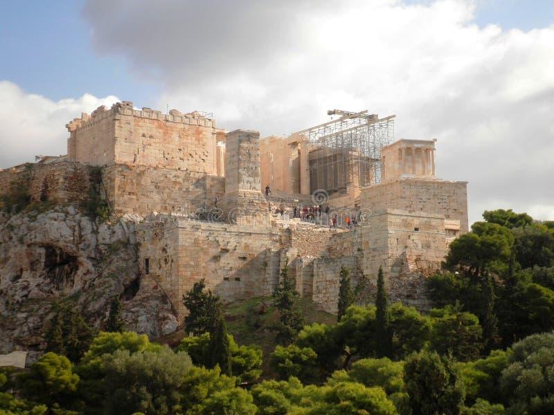 Akropolis Athen Griechenland stockfoto