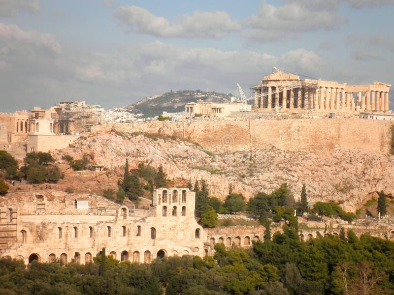 Akropolis-Parthenon Athen Griechenland lizenzfreie stockfotos