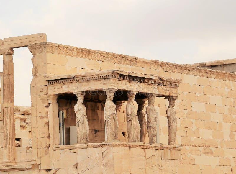 Akropolis van Athene Griekenland stock fotografie