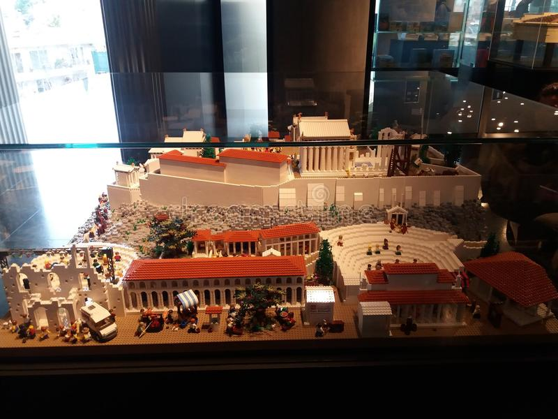 Akropolmuseum royaltyfri foto