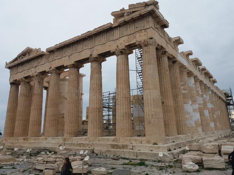 Akropolu Parthenon obrazy stock