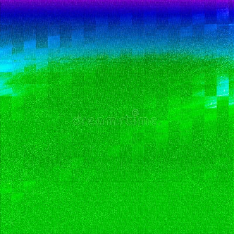 Akryl tonade borsteslaglängder abstrakt tema Grungemålarfärg på bakgrund texturerad bakgrund som målas Färg befläckte digitalt pa royaltyfri illustrationer
