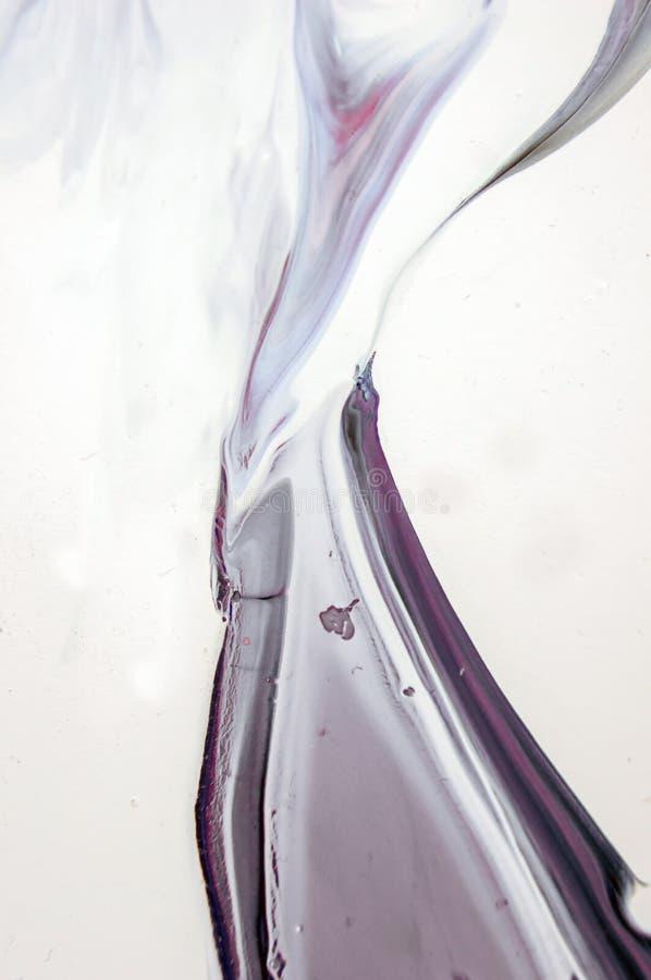 Akrylowy, farba, abstrakt Zbliżenie obraz fotografia royalty free