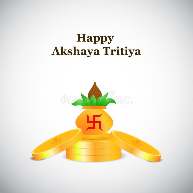 Akshaya Tritiya背景 库存例证
