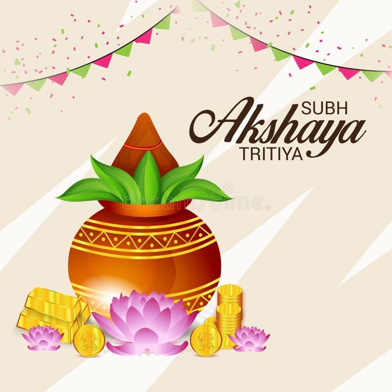 Akshaya Tritiya ilustração royalty free