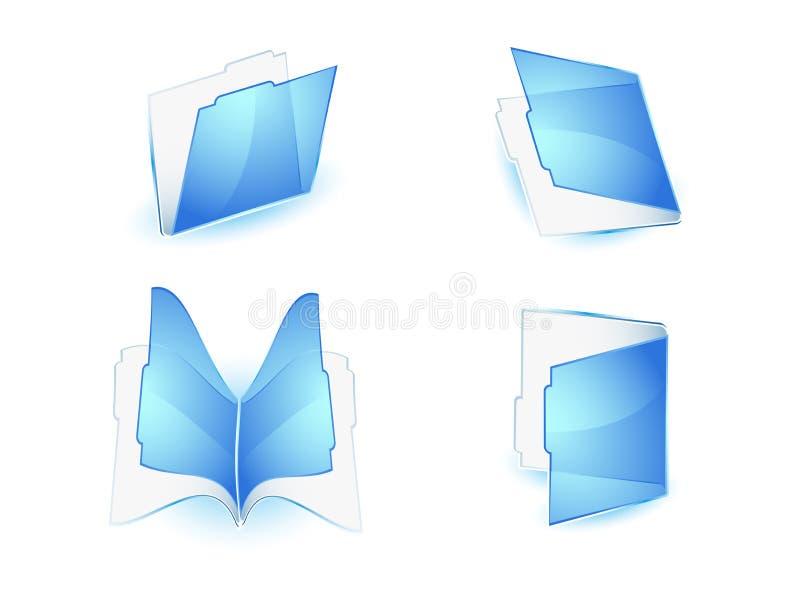 akta ikony ilustracji