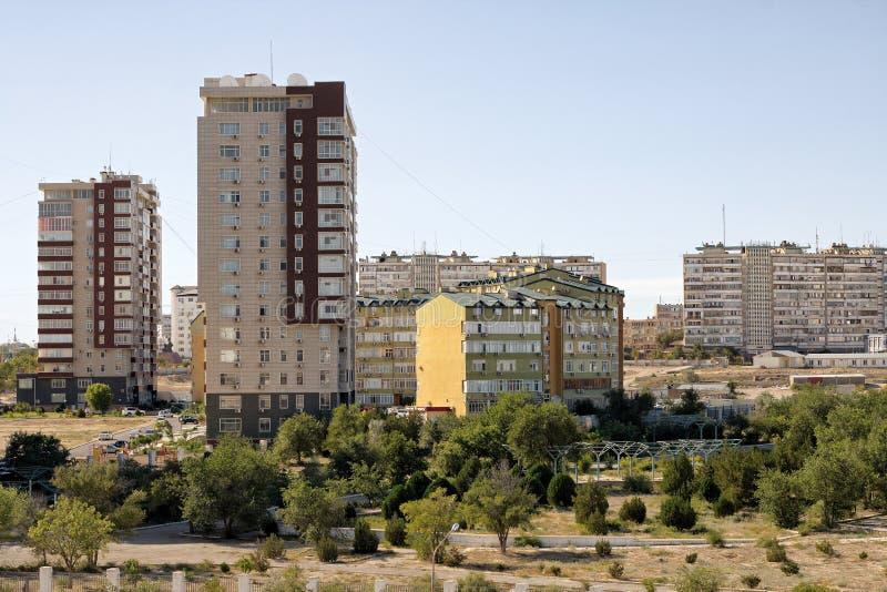 Aktau stad fotografering för bildbyråer