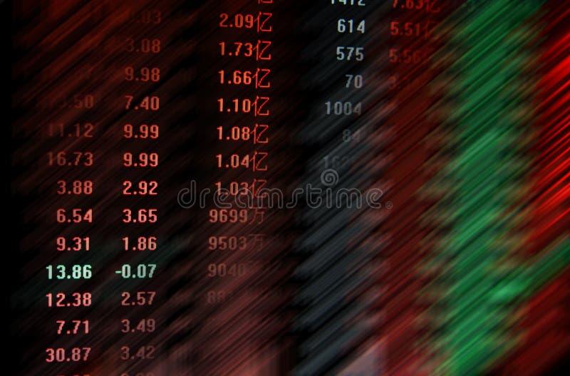Aktiemarknad arkivbild