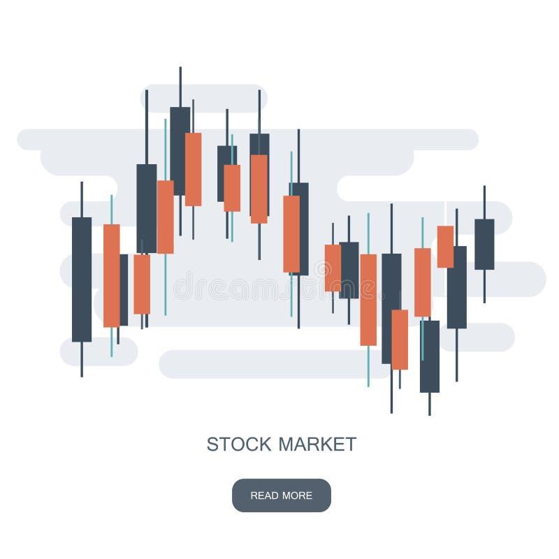 Aktienkurvefirmenzeichen Währungshandelsdiagramm Devisenerfolgs-Konzeptlogo Devisenmarktdiagramm lizenzfreie abbildung