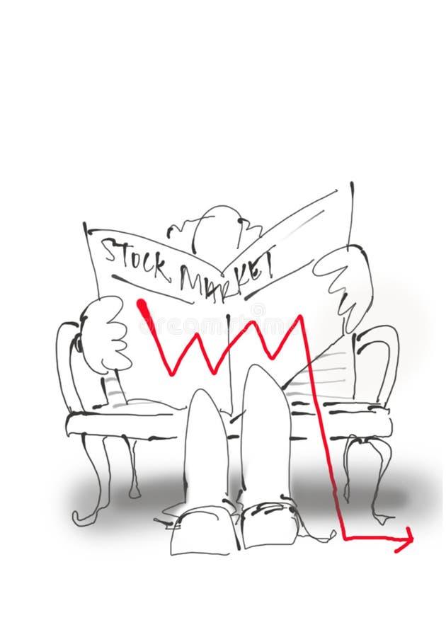 Aktienmarkt-Sturzflug 2 lizenzfreie stockfotos