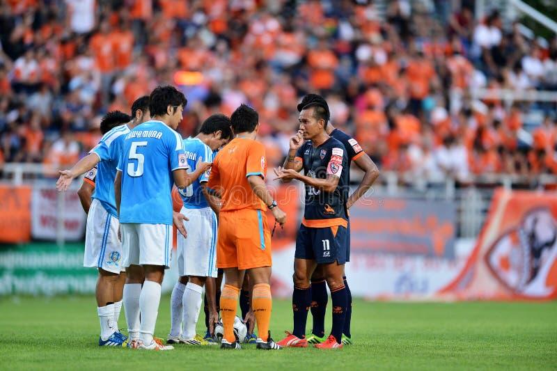 Aktion in der thailändischen ersten Liga