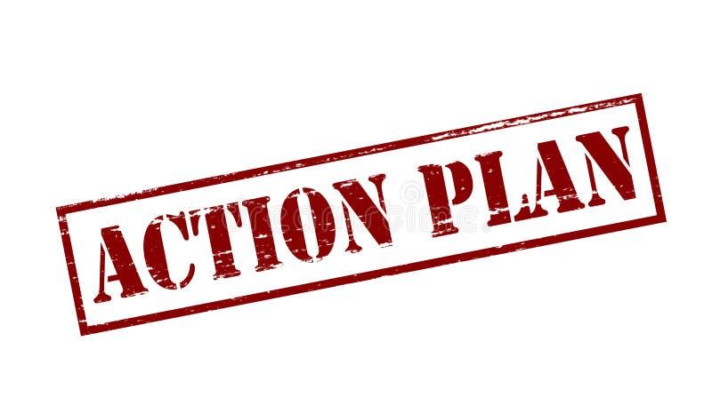 Aktionsplan lizenzfreie stockbilder