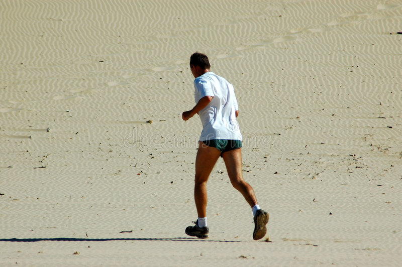 aktiv jogger arkivbild