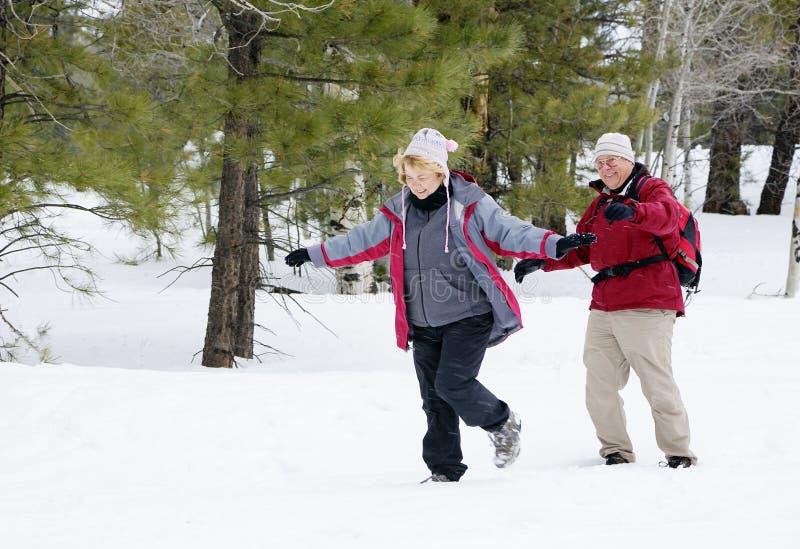 Aktive Pensionierte Paare Lizenzfreies Stockfoto