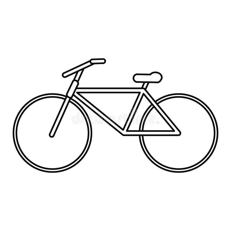 Aktiver Sportentwurf des Fahrradtransportes vektor abbildung