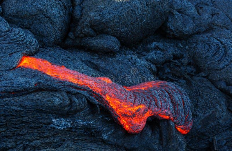Aktiver Vulkan stockbilder