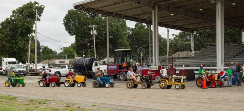 Aktivitet på en årlig jordbruks- händelse i paducah royaltyfria bilder