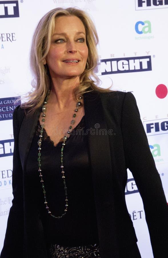 Aktor aktorka Bo Derek zdjęcie stock