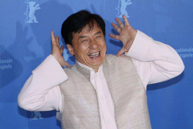 aktor chan Jackie zdjęcia stock