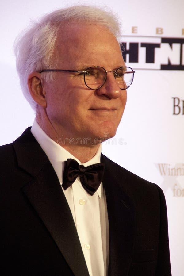 Aktora komediant Steve Martin obraz royalty free