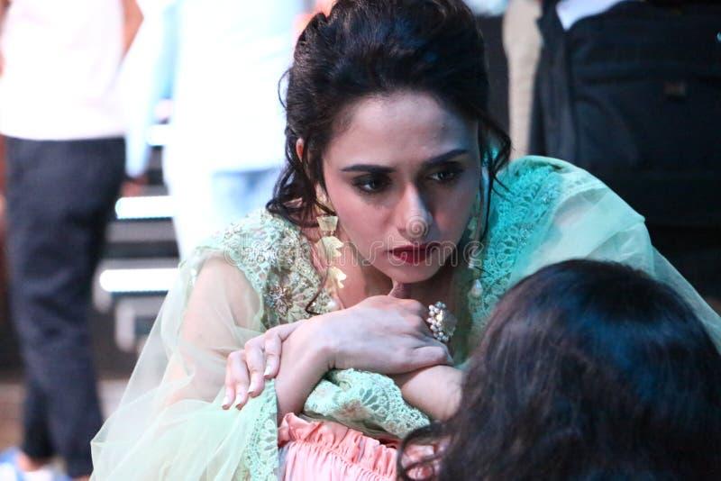 Aktorka Amruta Khanvilkar obrazy royalty free