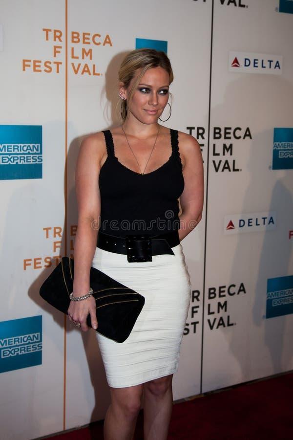 Aktorka Hilary Duff obraz royalty free