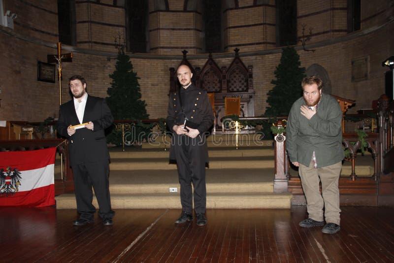 Aktorzy bawić się Szekspir obraz stock