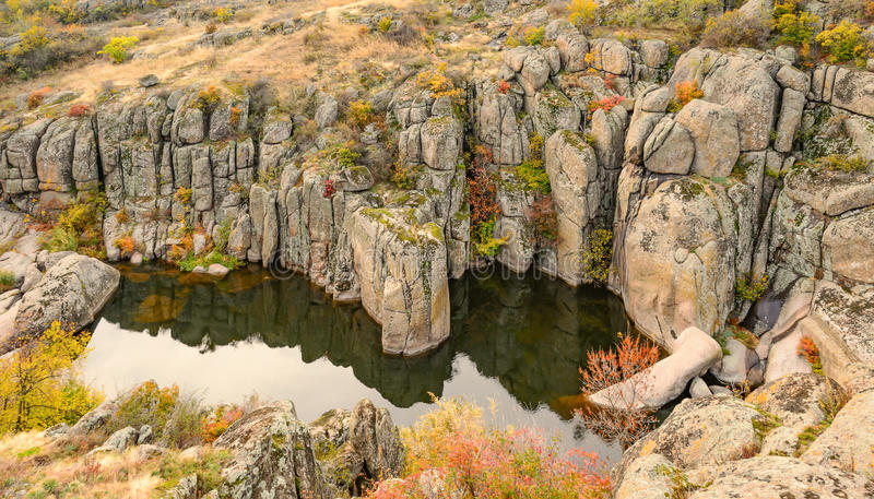Aktovskiy canyon stock photos