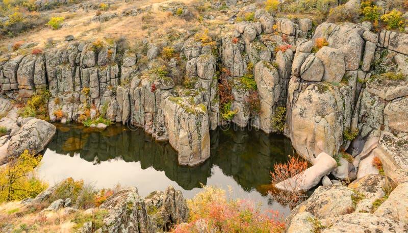 Aktovskiy kanjon arkivfoton