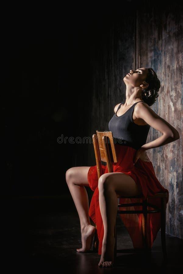 Aktris royaltyfri fotografi