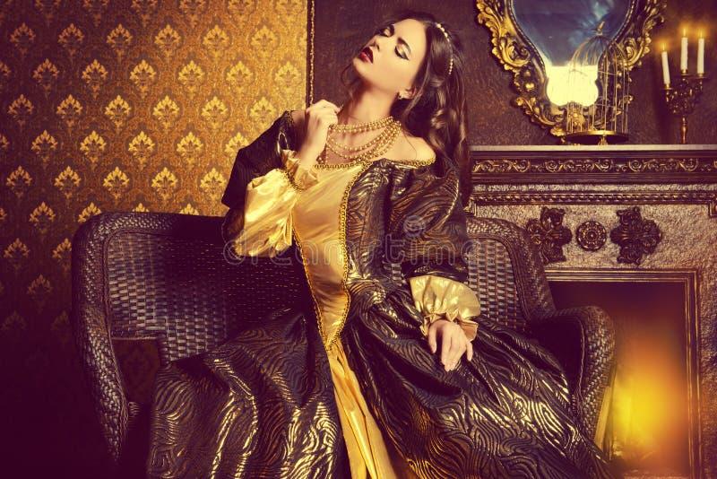 Aktris royaltyfri bild