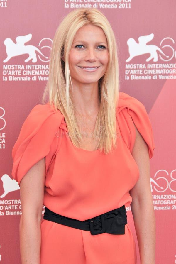 Aktris Gwyneth Paltrow royaltyfri fotografi