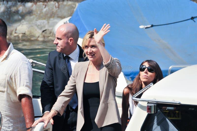 Aktris Kate Winslet royaltyfria bilder